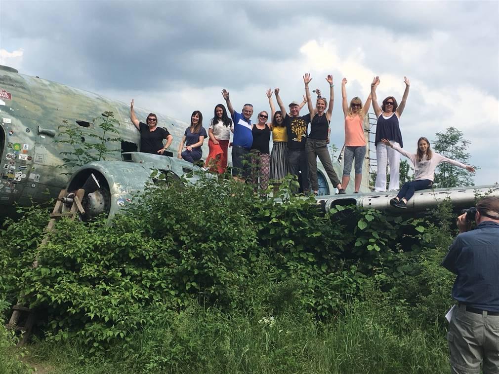 Irish press and agent fam trip in Plitvice