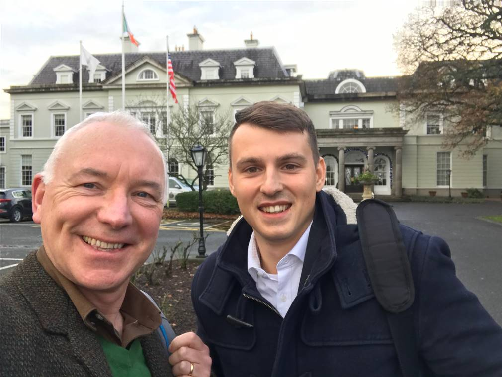 Sales calls in Ireland with Visualizer